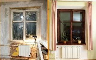 Как восстановить деревянные окна?