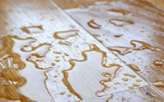 Как восстановить ламинат после потопа?