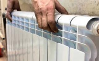 Как закрепить радиатор отопления на гипсокартон?