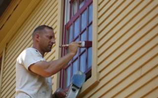 Какой краской покрасить окна деревянные?