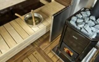 Как выбрать дровяную печь для бани?