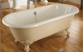 Как закрепить ванну чтобы не шаталась?