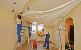 Как натянуть натяжной потолок своими руками?