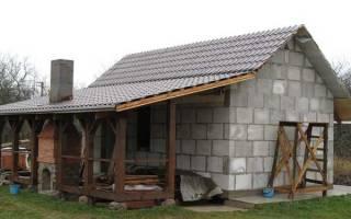Блоки для строительства бани какие лучше?
