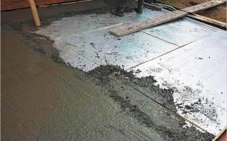 Как утеплить бетонный пол в гараже?
