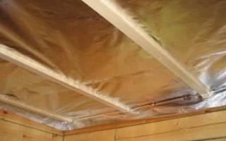 Как правильно сделать пароизоляцию потолка?