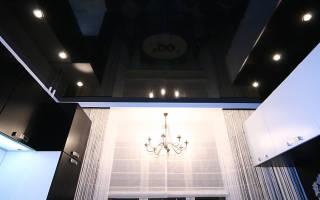 Можно ли крепить натяжной потолок к гипсокартону?