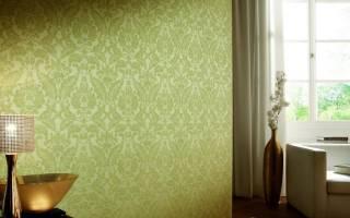 Как покрасить флизелиновые обои с рисунком?