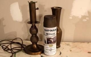 Как развести бронзовую пудру для покраски?