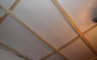 Как прикрепить брус к потолку?