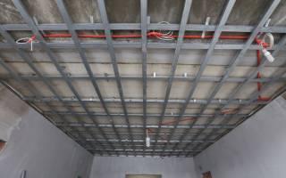 Какие профиля нужны для потолка из гипсокартона?