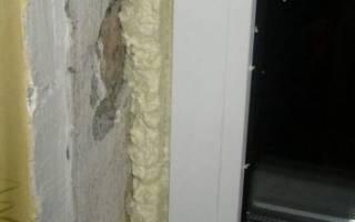 Как закрыть пену на окнах с улицы?