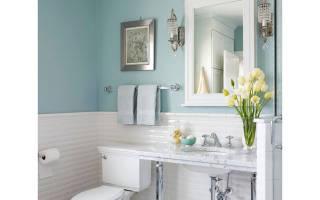 Как покрасить стены в туалете своими руками?