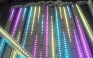Как подключить светодиодный светильник к 220в?