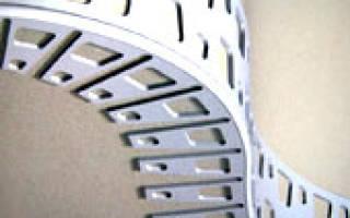 Как крепить арочный уголок к гипсокартону?