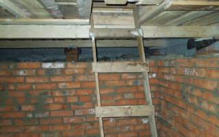 Как сделать потолок в погребе?