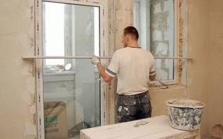 Как правильно заштукатурить откосы на окнах?