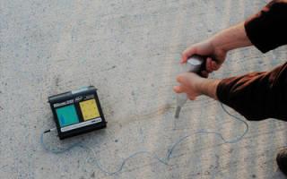 Как определить прочность бетона самостоятельно?