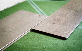 Какие бывают подложки под ламинат?