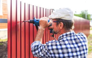 Как залить фундамент под забор?