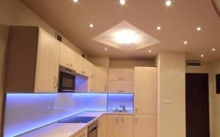 Какие светильники можно устанавливать в натяжной потолок?