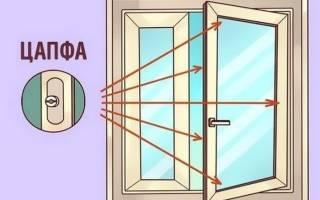 Как отрегулировать пластиковые окна на зиму?