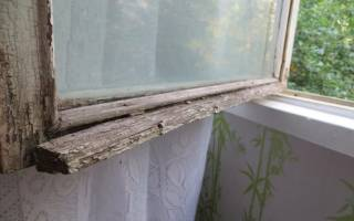 Как покрасить окно деревянное старое?