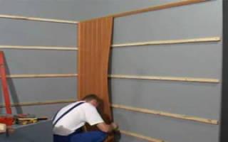 Как крепить пластиковые панели к стене?