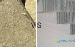 Какой Утепление лучше пенопласт или минвата?