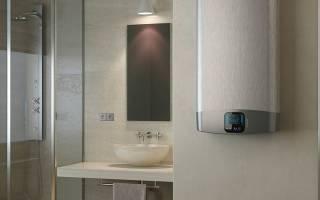 Почему из водонагревателя медленно течет горячая вода?