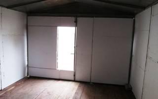 Как построить гараж из пенопласта?