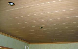 Как крепить МДФ панели на потолок?