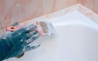 Как покрасить старую ванну своими руками?