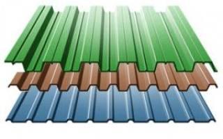 Какой профнастил лучше для крыши дома?