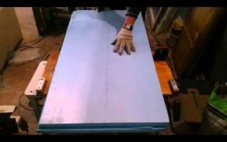Как порезать пенопласт своими руками?