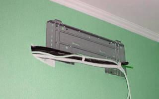 Как закрепить кабель на потолке?
