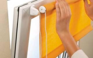 Как выбрать рулонные шторы на пластиковые окна?