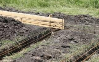 Как копать траншею под фундамент?