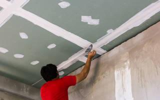 Как выровнять потолок шпаклевкой своими руками?