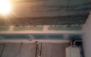 Как сделать короб из гипсокартона на стене?