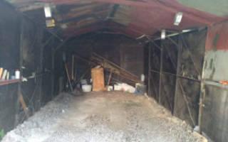 Как утеплить железный гараж изнутри?