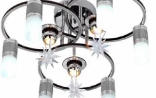 Как починить люстру с галогенными лампами?