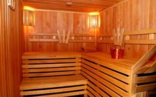 Как отделать парную в деревянной бане?