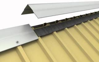Как правильно стелить профнастил на крышу?