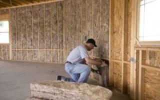 Как утеплить каркасный дом изнутри?