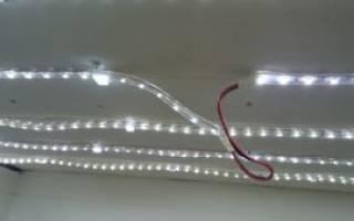 Как подключается светодиодная лента 220 вольт?