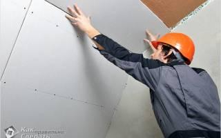 Как крепить ГКЛ к потолку?