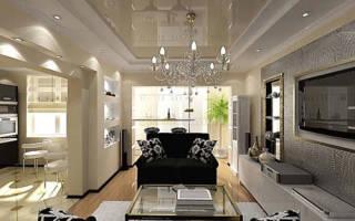 Какие можно сделать потолки в квартире?