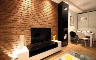 Стена под кирпич в квартире как сделать?