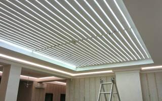 Светящийся потолок как основное освещение?